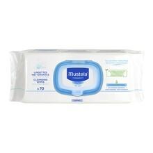 Mustela Bebe-Enfant, chusteczki oczyszczające do skóry normalnej, 70 szt