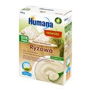 Humana 100% Organic, kaszka bezmleczna, ryżowa, 4 m+, 200 g