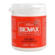 Biovax Opuntia Oil & Mango, intensywnie regenerująca maseczka do włosów zniszczonych, 250 ml