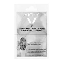 Vichy Masque Argile Purifiant Pores, maseczka oczyszczająca z glinką, 6 ml x 2 saszetki