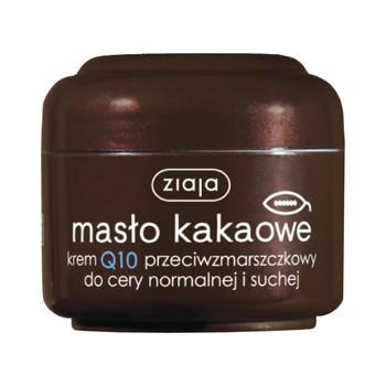 Ziaja Masło Kakaowe, krem Q10 przeciwzmarszczkowy, 50 ml