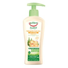 Equilibra Baby, delikatne mydełko do rąk i twarzy, 0m+, 250 ml