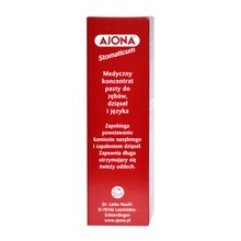 Ajona Stomaticum, koncentrat pasty do zębów, 25 ml
