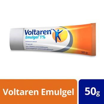 Voltaren Emulgel 1%, 10 mg / g, żel, 50 g