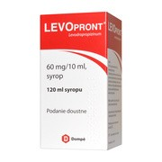 Levopront, 60 mg/10 ml, syrop, 120 ml