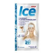 Apap Ice, chłodzący plaster hydrożelowy, 2 szt, 1 saszetka