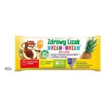 Zdrowy Lizak MniamMniam 12 witamin 2 minerały, koncentracja, odporność, 40 szt.