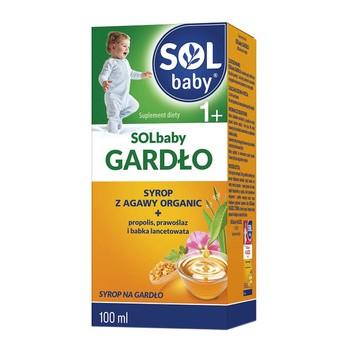 SOLbaby Gardło, syrop, 100 ml