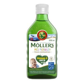 Mollers Mój Pierwszy Tran Norweski, płyn, 250 ml