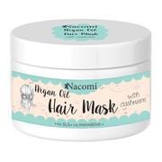 Nacomi, maska do włosów z olejem arganowym i proteinami kaszmiru, 200 ml