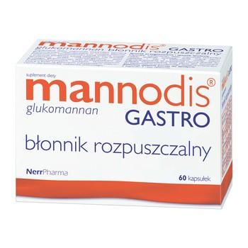 Mannodis Gastro, kapsułki twarde, 60 szt.