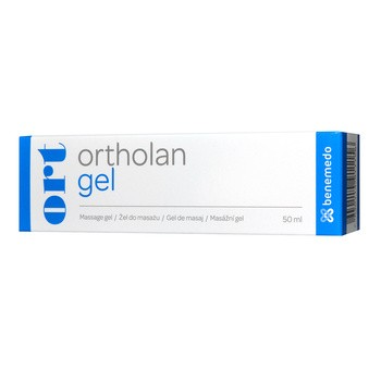Ortholan gel, żel do masażu, 50 ml
