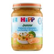 HiPP, makaron z łososiem, marchewką i brokułami, po 12. miesiącu, 250 g
