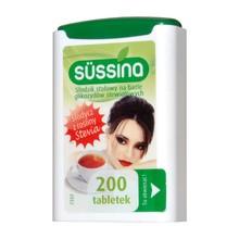 Sussina Stevia, słodzik, tabletki, 200 szt.