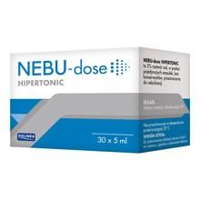 Nebu-Dose, roztwór hipertoniczny, 5 ml, 30 ampułek