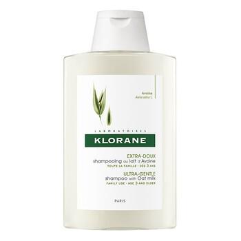 Klorane, szampon do włosów na bazie mleczka z owsa, ultra-łagodny, 200 ml