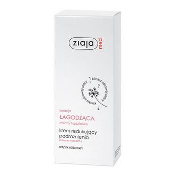 Ziaja Med Kuracja Łagodząca, krem redukujący podrażnienia, trądzik różowaty, 50 ml