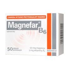 Magnefar B6, tabletki, 50 szt.