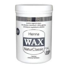 WAX ang PILOMAX NaturClassic Wax Henna, maska do włosów zniszczonych i ciemnych, 480 ml