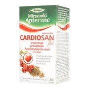 Cardiosan fix, mieszanka ziołowa w saszetkach, 2,1 g, 20 szt.