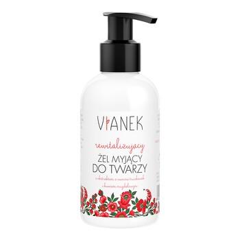Vianek, rewitalizujący żel myjący do twarzy, 150 ml