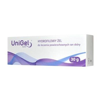 UniGel Apotex, żel do leczenia ran, 30 g