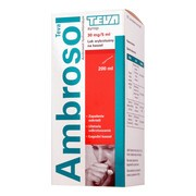 Ambrosol Teva, (30 mg/5 ml), syrop, 200 ml