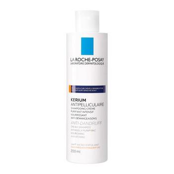 La Roche-Posay Kerium, szampon-krem przeciwłupieżowy, łupież suchy, 200 ml