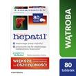 Hepatil, tabletki, 80 szt.
