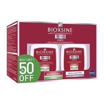 Bioxsine DermaGen Forte, szampon przeciw wypadaniu włosów, dwupak, 2 x 300 ml