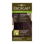 Biokap Nutricolor Delicato, farba do włosów, 4.05 czekoladowy kasztan,140 ml