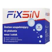 Fixsin, zestaw uzupełniający do płukania nosa i zatok, 30 saszetek