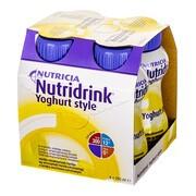 Nutridrink Yoghurt style, płyn o smaku waniliowo-cytrynowym, 4 x 200 ml