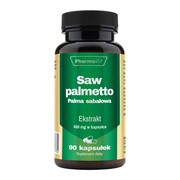 Saw palmetto Palma sabałowa, kapsułki, 90 szt.