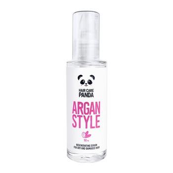 Hair Care Panda Argan Style, regeneracyjne serum do włosów suchych i zniszczonych, 50ml
