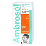 Ambrosol (15 mg/5 ml), syrop, 120 ml (Teva)