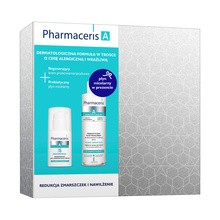 Zestaw Promocyjny Pharmaceris A, Sensireneal, regenerujący krem przeciwzmarszczkowy, 30 ml + Prebio-Sensilique, prebiotyczny płyn micelarny do ekstremalnie wrażliwej skóry, 200 ml GRATIS