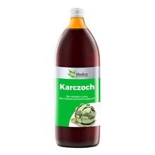Karczoch, sok z karczocha, 1000 ml (EkaMedica)