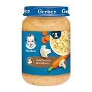 Gerber, zupka kalafiorowa z królikiem, 8 m+, 190 g