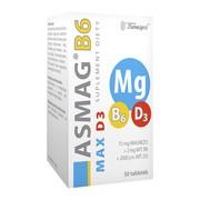 Asmag B6 Max D3, tabletki, 50 szt.