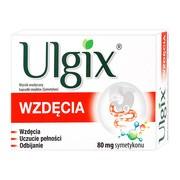 Ulgix Wzdęcia, 80 mg, kapsułki miękkie, 50 szt.