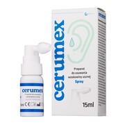 Cerumex, spray do usuwania woskowiny usznej, 15 ml