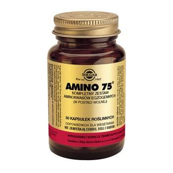Solgar Amino 75, kapsułki, 30 szt.