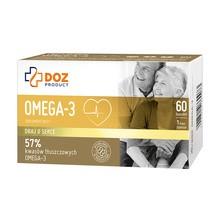 DOZ PRODUCT Omega-3, kapsułki, 60 szt.