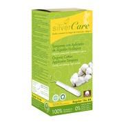 Masmi Silver Care, tampony bawełniane z aplikatorem, Regular, 16 szt.
