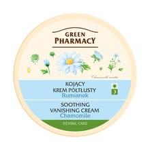 Green Pharmacy, kojący krem do twarzy, półtłusty, rumianek, 150 ml