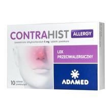 Contrahist Allergy, 5 mg, tabletki powlekane, 10 szt.