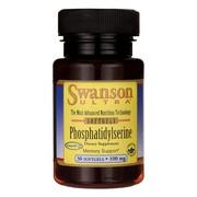 Swanson Fosfatydylseryna, 100 mg, kapsułki, 30 szt.