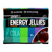 ALE Active Life Energy, Energy Jellies, żelki o smaku coli z kofeiną i guaraną, 50 g