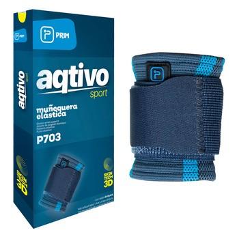 Elastyczny owijany stabilizator nadgarstka Prim Aqtivo Sport P703, rozmiar uniwersalny